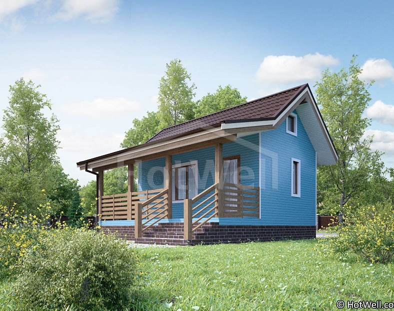 Дом из СИП панелей «Причал»